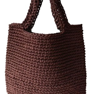 anything tote bag dark brown