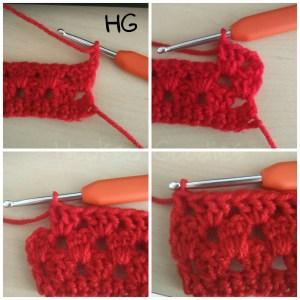 How to Crochet Granny Stripes-Round 4