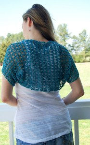 Crochet Spring Shrug-Beautiful Spring Shrug by Elizabeth Pardue