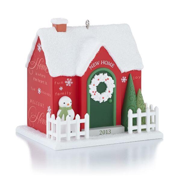 2013 New Home Hallmark Christmas Ornament Hallmark