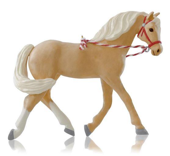 2014 Dream Horse Palomino Hallmark Ornament Hooked On