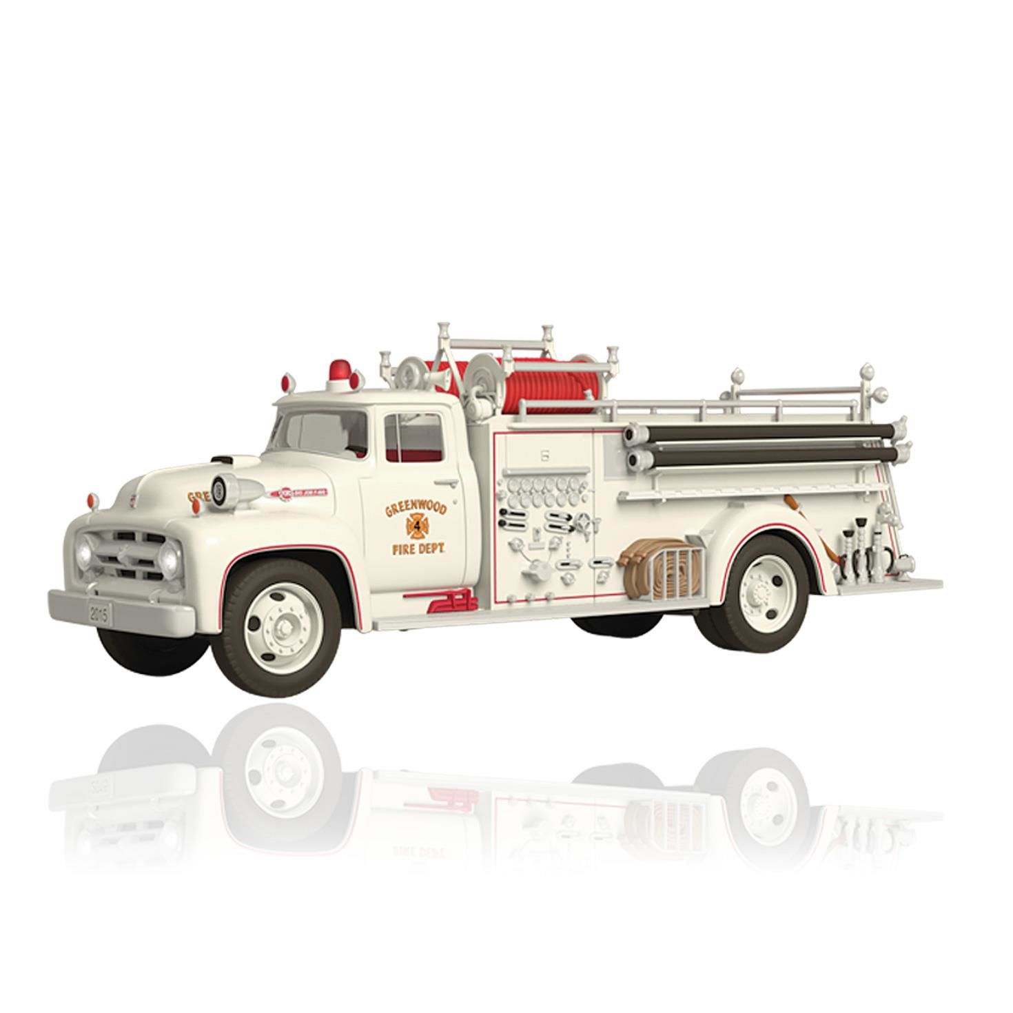 2013 Ornaments Fire Truck Hallmark