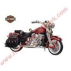 Hallmark Miniature Harley Davidson Motorcycle Ornaments At