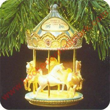 1988 Babys First Christmas LightMotion MIB