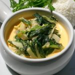 Bok Choy in Coconut Milk