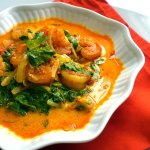 Quick Dinner Ideas: Shrimp & Greens Curry