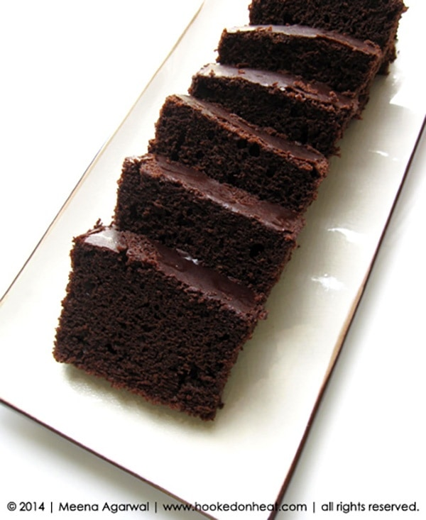 Recipe for Quick Chocolate Cake, taken from www.hookedonheat.com. Visit site for detailed recipe.