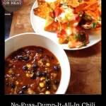 Dinner Diary: No-Fuss Chili