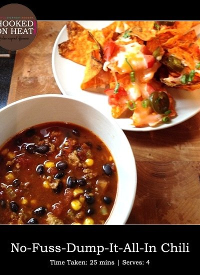 Dinner Diary: No-Fuss Chili