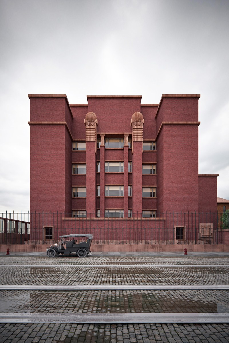 Larkin Building Frank Lloyd Wright Larkin administration ...