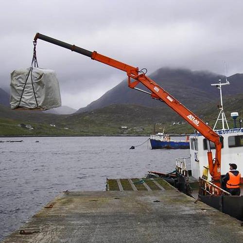 Load Test safe on Fish Farm Workboat