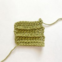 Yarn Over Slip Stitch (yo sl st) Crochet  Tutorial