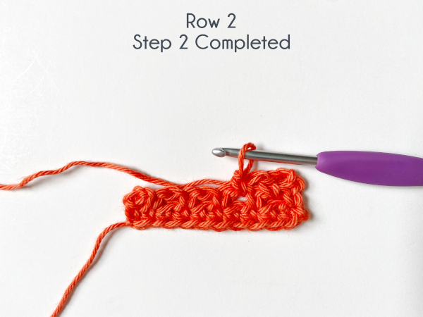"""""""Row 2, Step 2 Completed"""""""