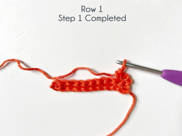 """""""Row 1, Step 1 Completed"""""""
