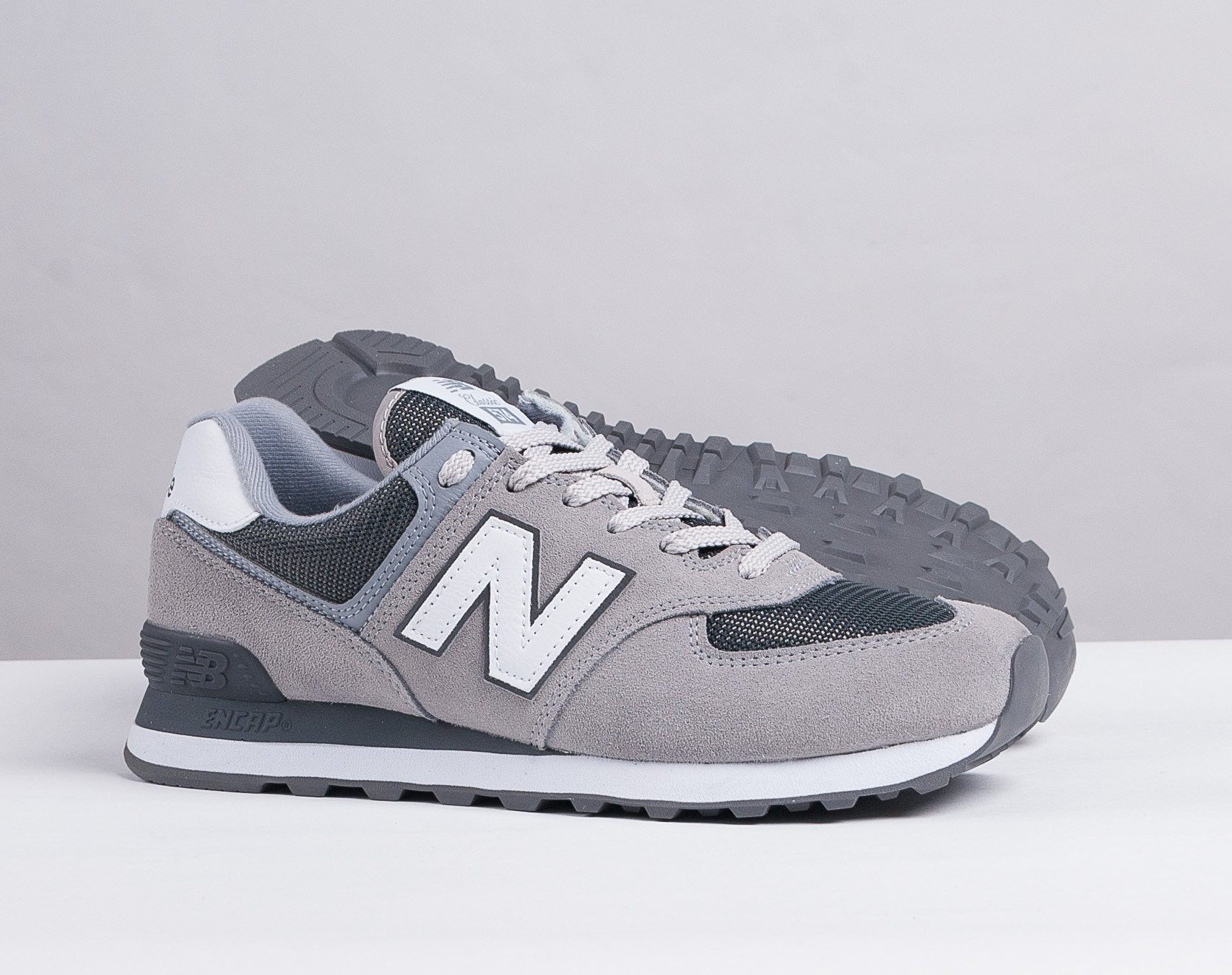 New Balance 574 Chaussures Pour Homme Gris