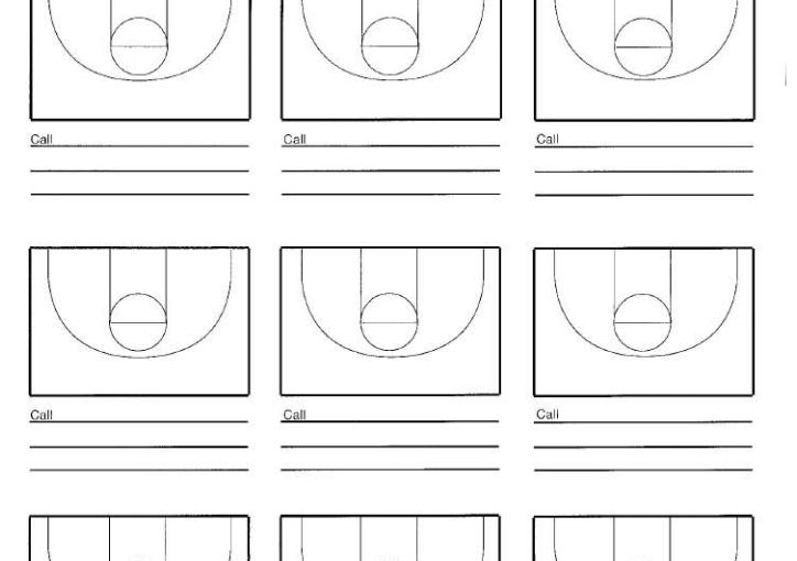 Nine Court Basketball Court Diagram - Hoop Coach