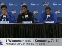 post game press conference