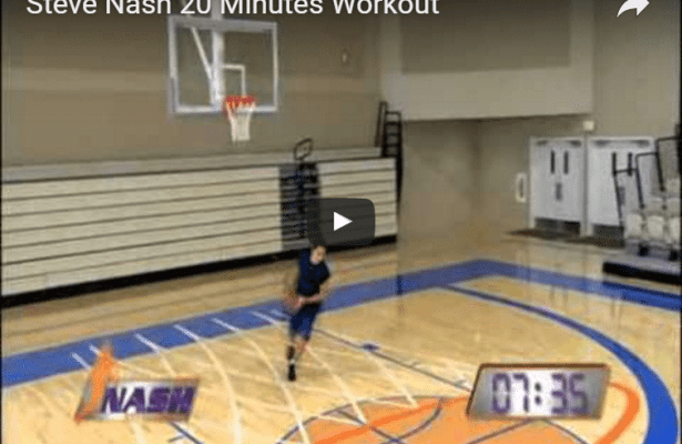Steve Nash Shooting Workout