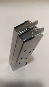 Pair of Checkmate 1911 magazines 45 acp 7rd -- mag #107