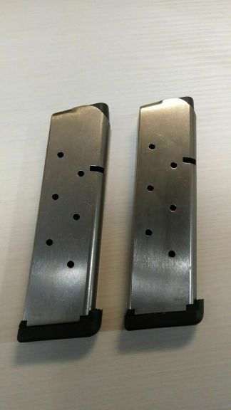 Pair of Les Baer 1911 magazines 45 acp 8rd -- mag #85