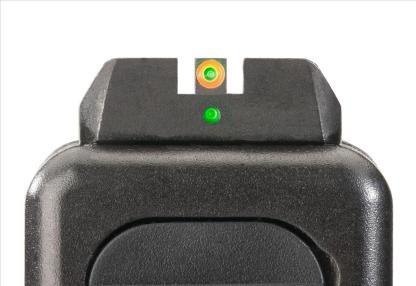 AmeriGlo I-DOT Pro Set- Green Rear w/ Green and Orange Front +0