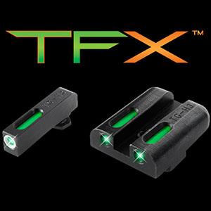 TruGlo TFX Set- Green Rear with Green Front