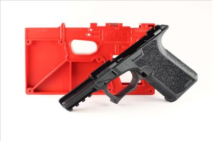 Poly 80 Compact Pistol Frame Kit G19/23/32 Black Textured Grip