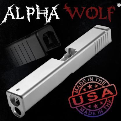 AlphaWolf Slide Compatible with Glock 17 9mm Gen4, OEM Profile