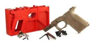 Poly 80 Compact Pistol Frame Kit G19/23/32 FDE Textured Grip