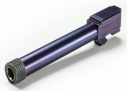 PVD coated LWD Barrel M/17 9mm Threaded 1/2 x 28