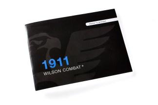 Wilson CombatBOOKS   DVDSOperations Manual, Replacement, Wilson Combat 1911 Auto972