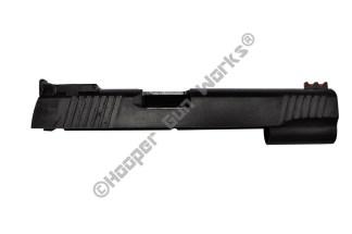 "Rock Island Armory 5"" Full Size 1911 Slide 10mm/40SW Wide Serrations LPA BULL"