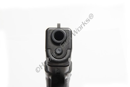 Wilson Combat 668BF245 Sight, Glock, Front, Snag-Free, Vickers Elite, Black Serrated, .230""