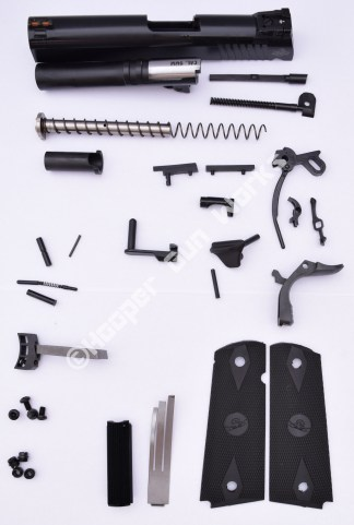 """Rock Island Armory 1911 4.25"""" Mid Size (Commander) Tactical Builder's Kit 45 ACP"""