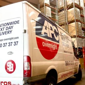 APC Van Graphics