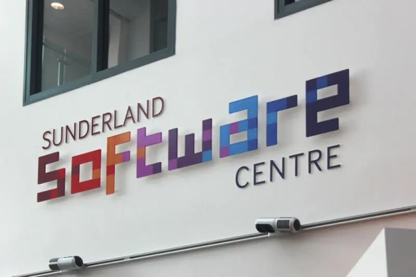 Sunderland Software Centre Acrylic Letters