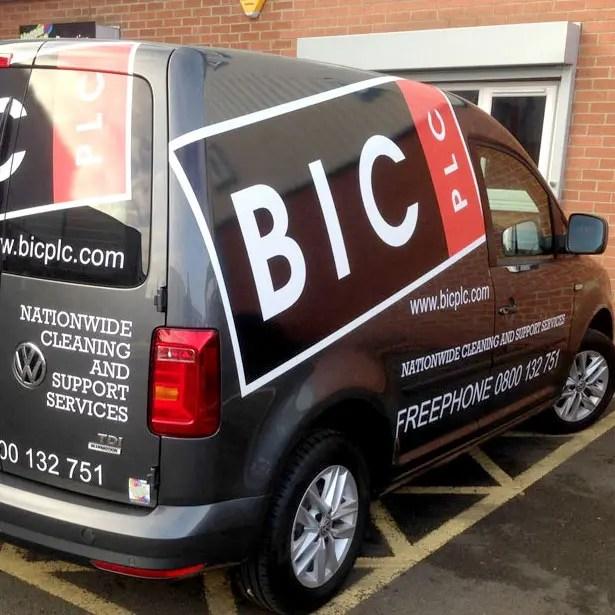 BIC Vehicle Livery