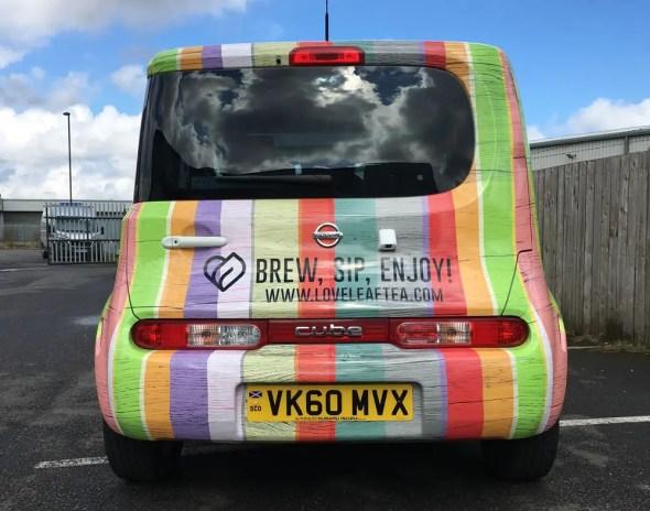Love Leaf Tea - Car Graphics