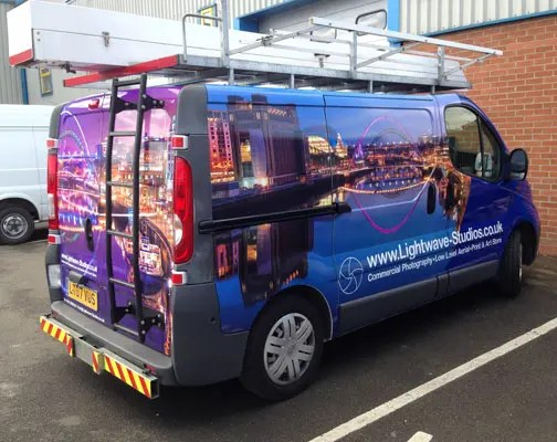 Full Van Vinyl Wrap Newcastle