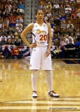Sun guard Kara Lawson.