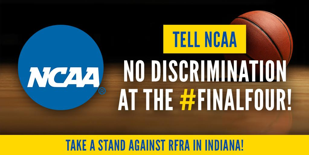 """Sports notables react to Indiana """"religious freedom"""" law that allows anti-gay discrimination, NCAA issues statement"""