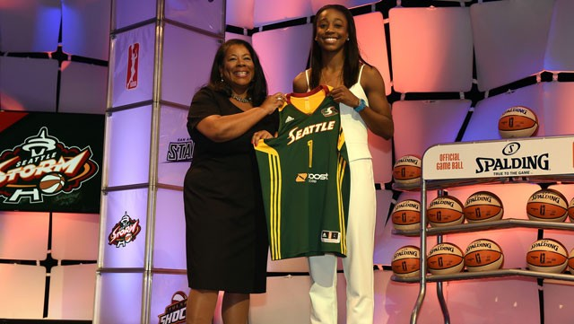 Getting to the know the WNBA draftees: Q&A with Jewell Loyd