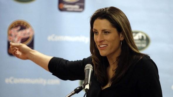 Indiana Fever head coach Stephanie White. Photo: Indiana Fever.