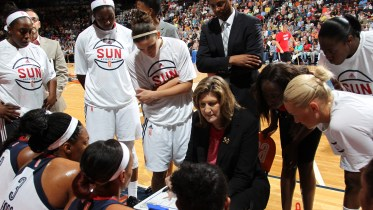 UNCASVILLE, Conn. (June 5, 2015) The Connecticut Sun host the Washington Mystics in their 2015 WNBA season home opener . Photo: Chris Marion/NBAE via Getty Images.