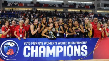 USA Women Battle Russia For 78-70 Victory And Sixth-Straight U19 Gold Medal