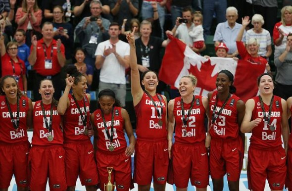 Team Canada. Photo: FIBA.