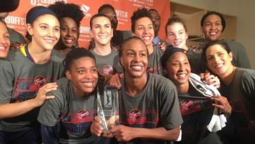 Indiana Fever 2015 East Champs