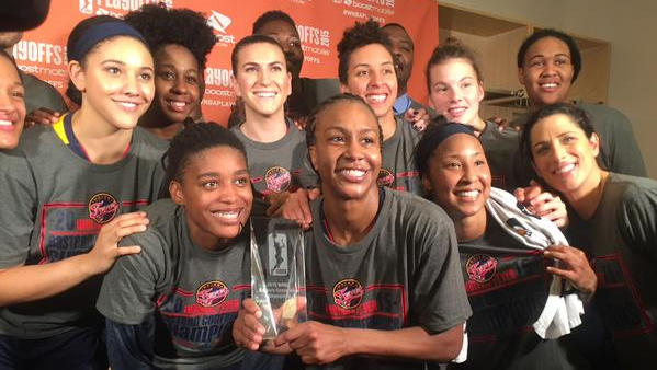 Fever defeat Liberty, 66-51, advance to WNBA Finals