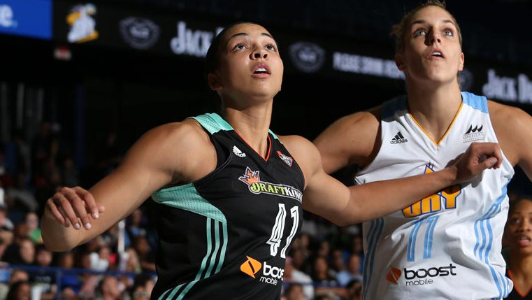 New York Liberty's Kiah Stokes named WNBA Rookie of the Month for games played in August