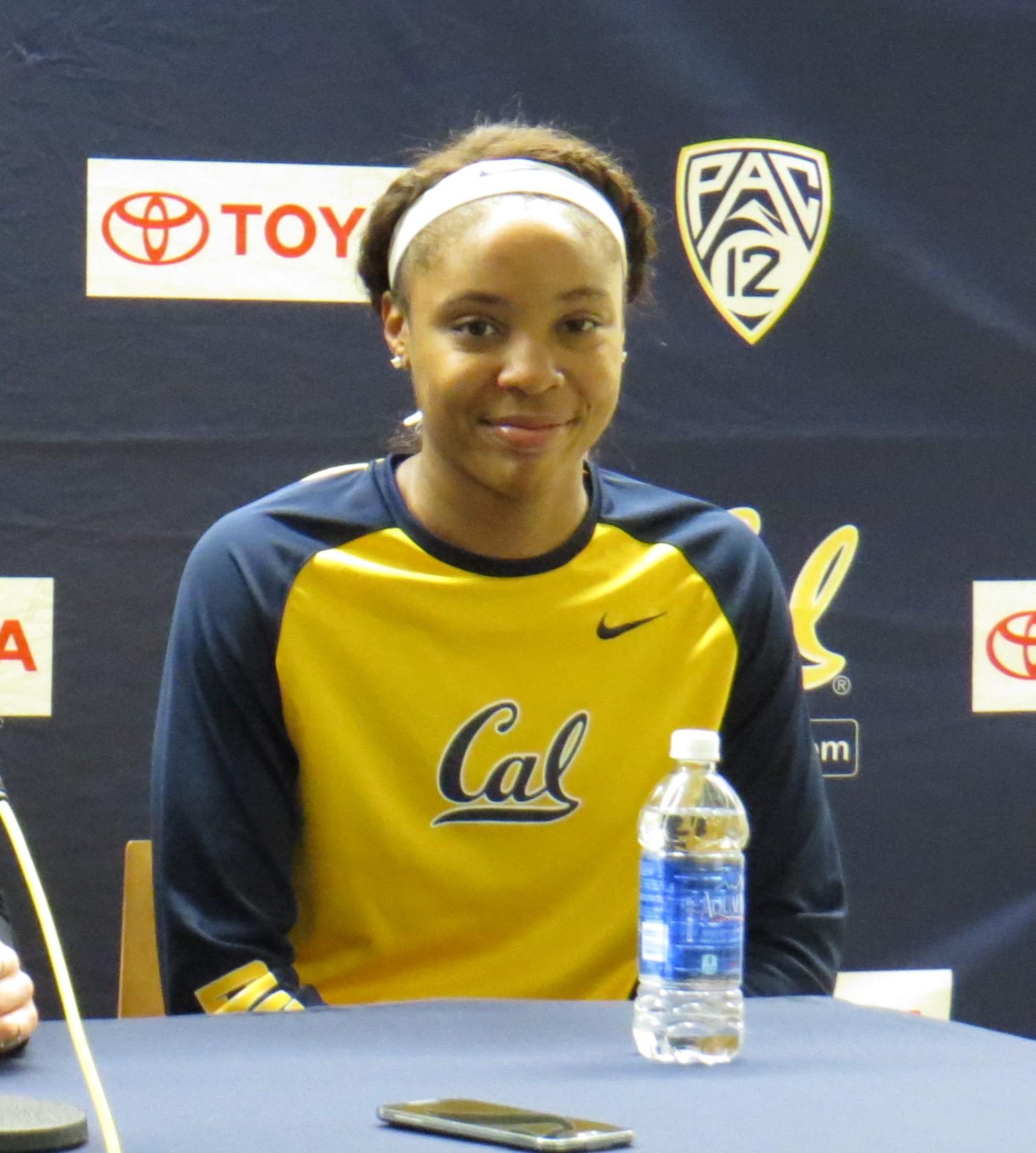 Cal's star freshman forward Kristine Anigwe on a quest for self-improvement
